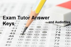 Ключі до вправ Exam Tutor та аудіофайли до завдань Аудіювання