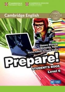 Обкладинка Cambridge English Prepare! Level 6