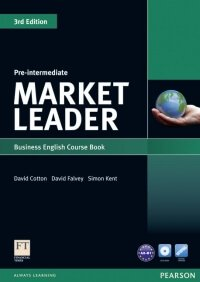 Market Leader Pre-Intermediate 3-d Edition (Course Book)