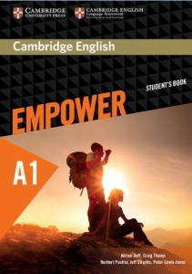 Обкладинка Cambridge English Empower A1 Starter SB
