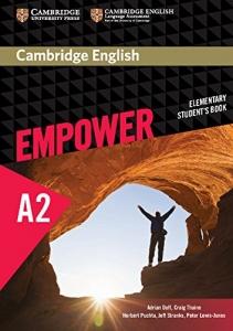 Обкладинка Cambridge English Empower A2 Elementary SB