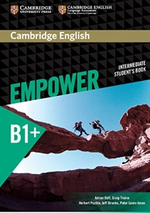 Обкладинка Cambridge English Empower B1+ Intermediate SB