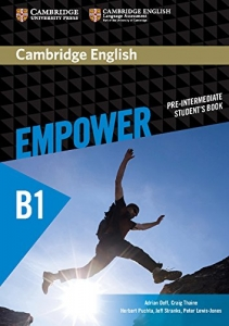 Обкладинка Cambridge English Empower B1 Pre-Intermediate SB