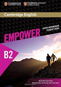 Обкладинка Cambridge English Empower B2 Upper-Intermediate SB