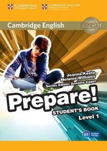 Обкладинка Cambridge English Prepare! Level 1