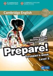 Обкладинка Cambridge English Prepare! Level 2