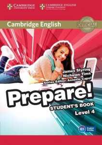 Обкладинка Cambridge English Prepare! Level 4