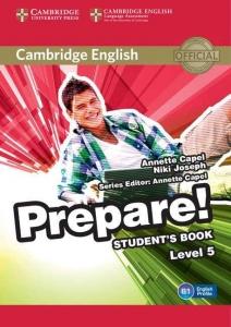 Обкладинка Cambridge English Prepare! Level 5