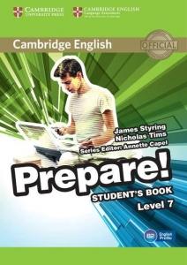 Обкладинка Cambridge English Prepare! Level 7
