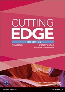 Cutting Edge Elementary 3d Edition (Student's Book and DVD)