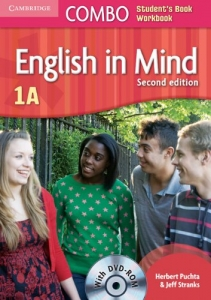 Обкладинка English in Mind Combo 2nd Edition 1A SB+WB with DVD-ROM