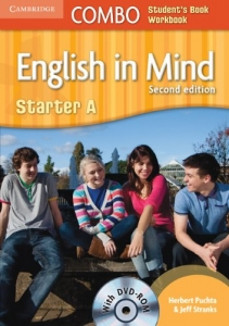 Обкладинка English in Mind Combo 2nd Edition Starter A SB+WB with DVD-ROM