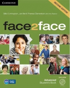Обкладинка Face2face 2nd Edition Advanced Student's Book with DVD-ROM