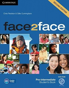 Обкладинка Face2face 2nd Edition Pre-Intermediate Student's Book with DVD-ROM