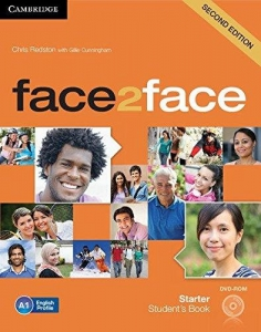 Обкладинка Face2face 2nd Edition Starter Student's Book with DVD-ROM
