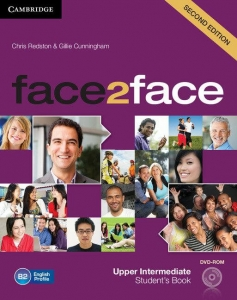 Обкладинка Face2face 2nd Edition Upper-Intermediate Student's Book with DVD-ROM