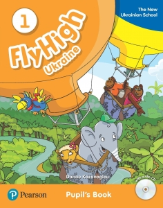 Обкладинка Fly High 1 Ukraine Pupil's Book and Audio CD