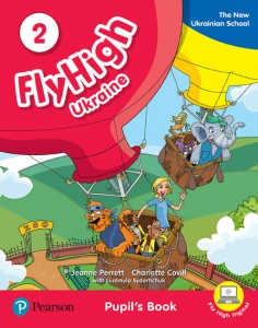 Обкладинка Fly High 2 Ukraine Pupil's Book and Audio CD