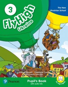 Обкладинка Fly High 3 Ukraine Pupil's Book and Audio CD
