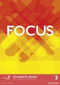 Обкладинка Focus 3 Students' book