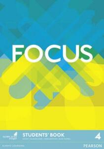 Обкладинка Focus 4 Students' book