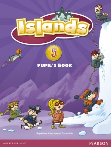 Обкладинка Islands 5 Pupil's Book