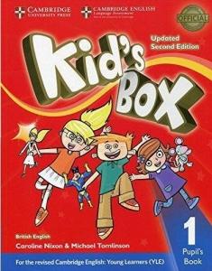 Обкладинка Kid's Box Updated 2nd Edition 1