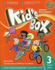 Обкладинка Kid's Box Updated 2nd Edition 3
