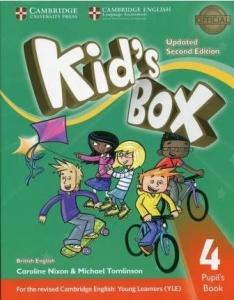 Обкладинка Kid's Box Updated 2nd Edition 4