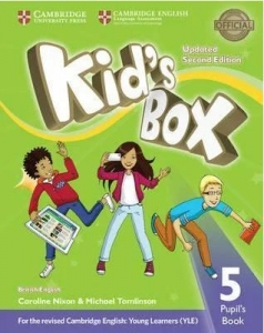 Обкладинка Kid's Box Updated 2nd Edition 5