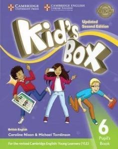 Обкладинка Kid's Box Updated 2nd Edition 6