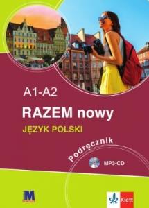 Обкладинка RAZEM NOWY Підручник А1-А2 + МР3-CD