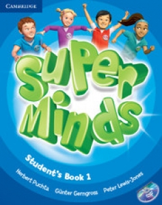 Обкладинка Super Minds 1 (with DVD-ROM)