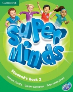 Обкладинка Super Minds 2 (with DVD-ROM)