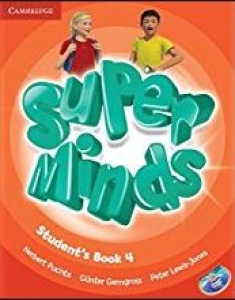 Обкладинка Super Minds 4 (with DVD-ROM)
