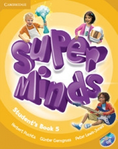 Обкладинка Super Minds 5 (with DVD-ROM)