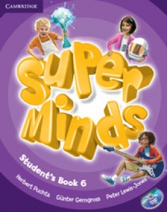 Обкладинка Super Minds 6 (with DVD-ROM)