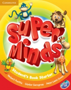 Обкладинка Super Minds Starter (with DVD-ROM)