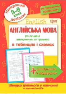 Англійська мова у таблицях и схемах 5-11 класи (серія «Рятівник»)