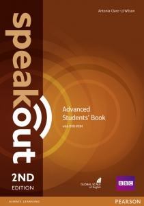 Обкладинка Speak Out 2nd Edition Advanced Student's Book with DVD
